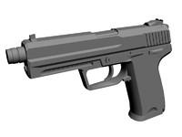 mk23 3d model