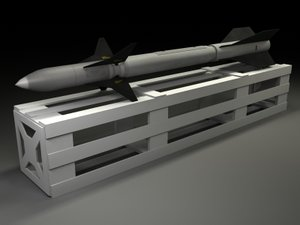 anti-radiation missile 3d 3ds