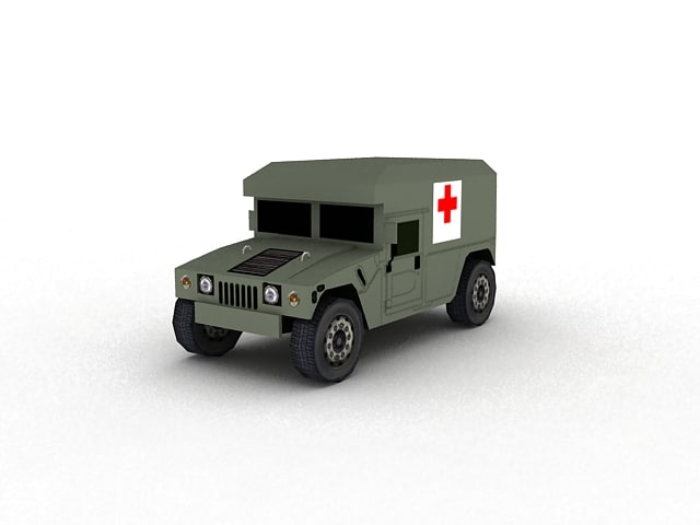 max hummer ambulance