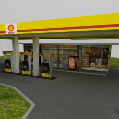 3ds gas station