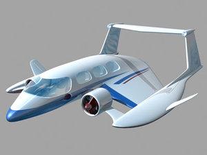 3ds passenger ground effects vehicle