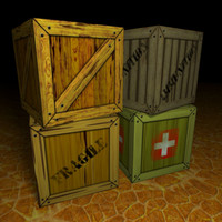 Free 3D Crate Models | TurboSquid