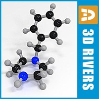 Benzylpiperazine by 3DRivers