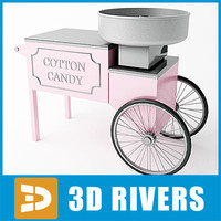 Cotton candy machine by 3DRivers