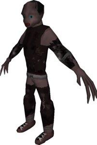 free creep creature 3d model