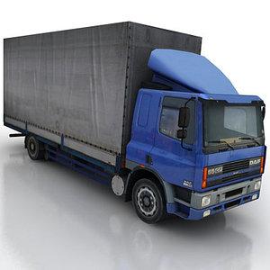 3d max vehicle truck