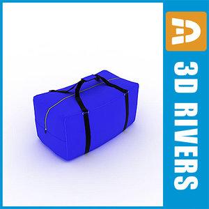 sport bag 3d max