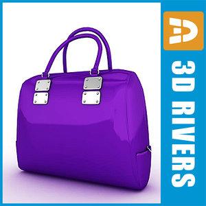 ladies bag 3d model