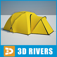 Camping tent 03 by 3DRivers