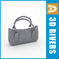 Grey handbag 01 by 3DRivers