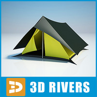 Camping tent 01 by 3DRivers