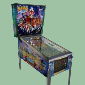 max arcade pinball machine monster