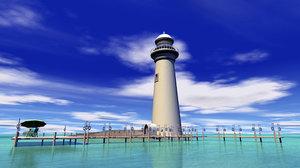c4d lighthouse docks table