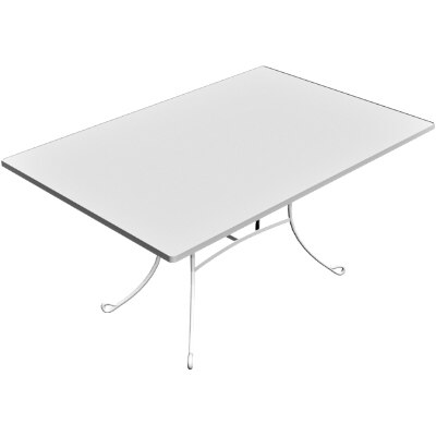 outdoor table 3d obj