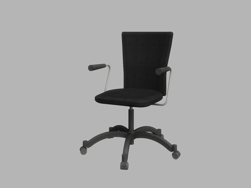office swivel chair 3d model
