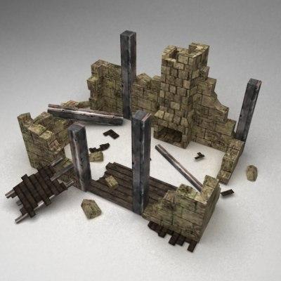 ruins 3d 3ds