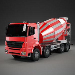 cement mixer axor 3d model