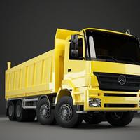 3d truck dump axor