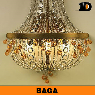 baga lamp 3d model