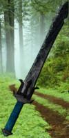 3d model mystical blades sword