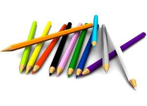 colore pencil 3d max
