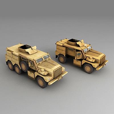 3d cougar 4x4 6x6