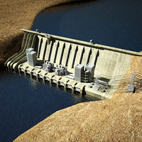Dam & Hydroelectric Station