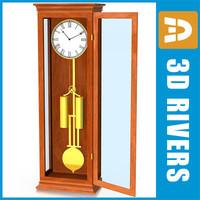 Floor standing clock 01 by 3DRivers