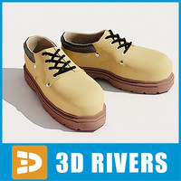 Rough man shoes by 3DRivers