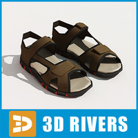 Men sandals by 3DRivers