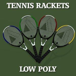 3d tennis rackets