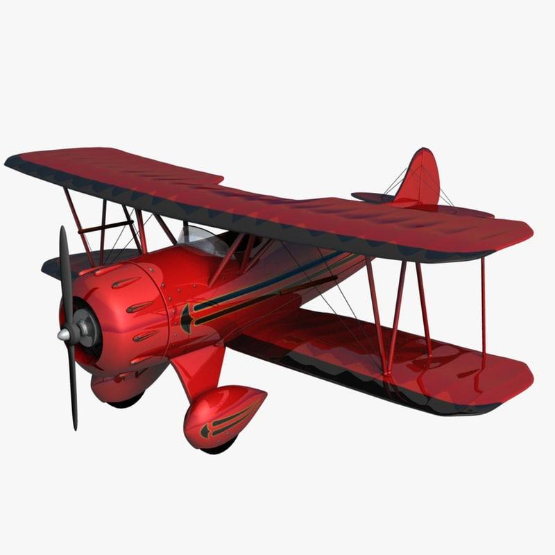 maya waco ymf5 biplane