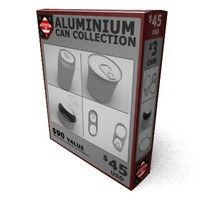 3ds aluminum cans