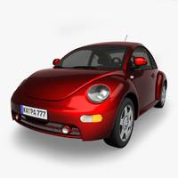 3d european car model