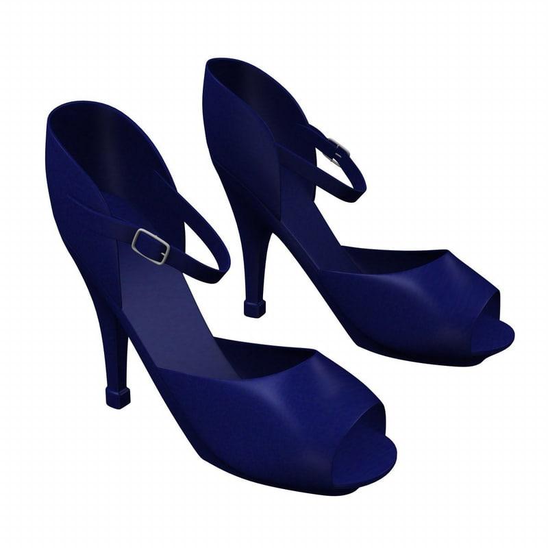 shoes 3d fbx