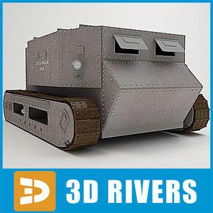 3d little tank