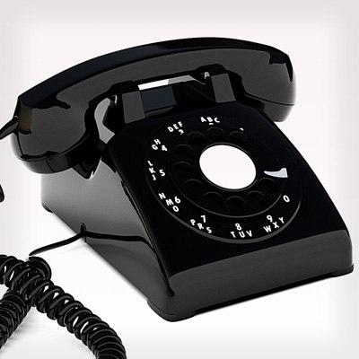 rotary phone 3d model