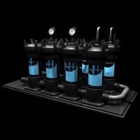 aquarium - pool water 3ds