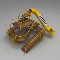 playground design 3d max