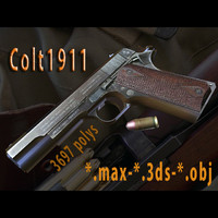 3d-model colt 1911 3d model