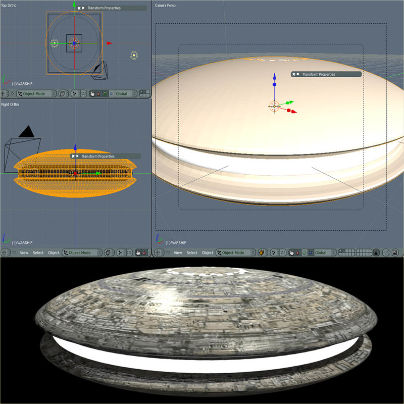 blender ufo sendercorp blender