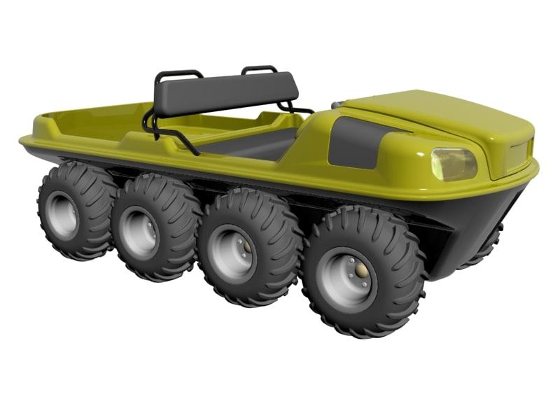 max 8x8 amphibious vehicle