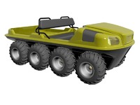 max 8x8 amphibious vehicle