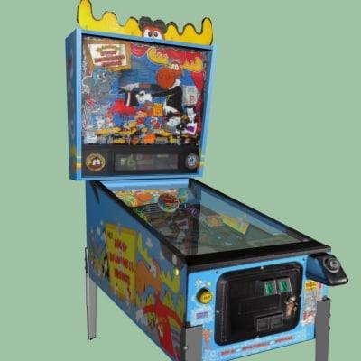 3d pinball machines model