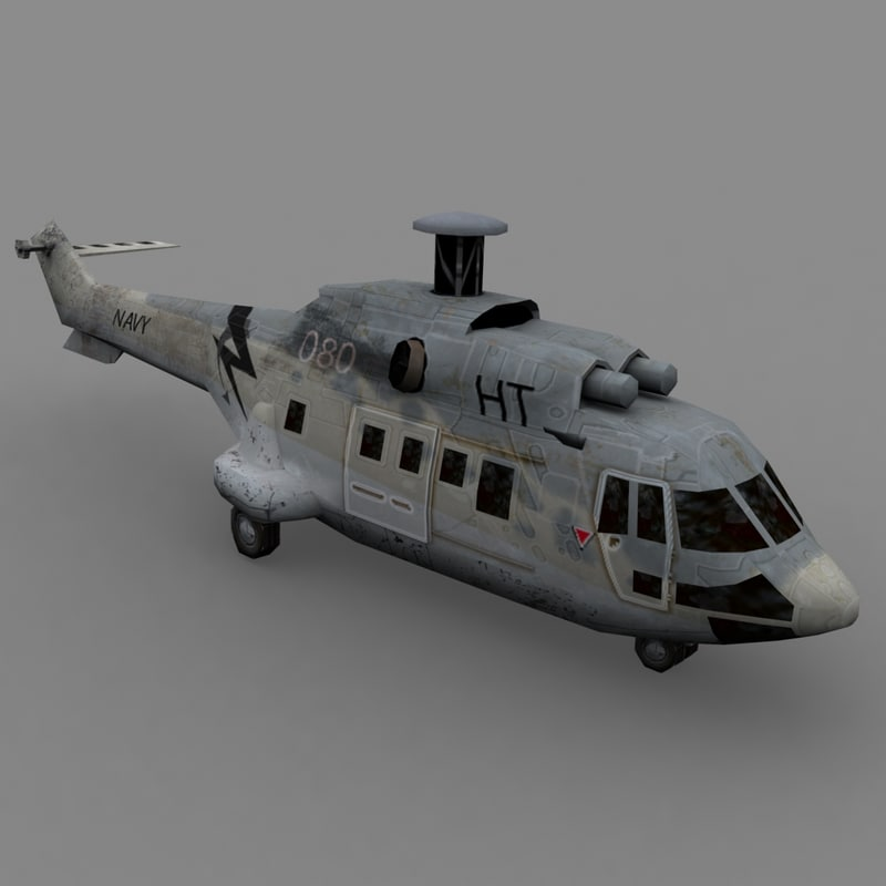 3d s92 navy helicopter