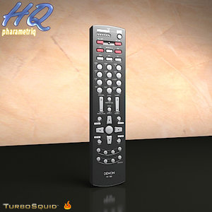 remote control digital media 3d model