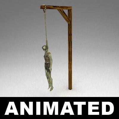 3dsmax gallows
