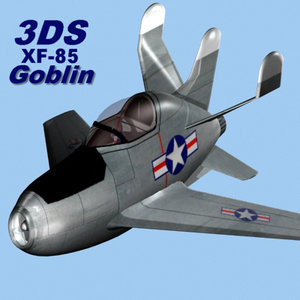 xf-85 goblin fighter 3ds