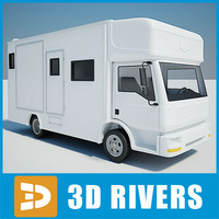 Horse trailer 01 by 3DRivers
