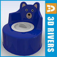 3ds baby potty